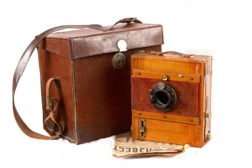 Ретро фотокамера
