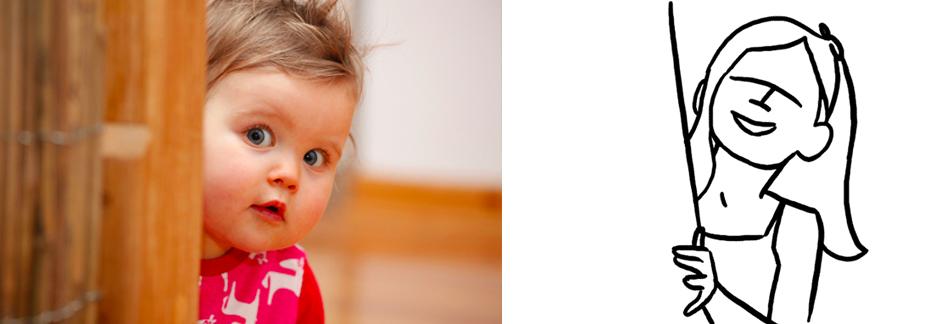 фотосъемка детей во время игры