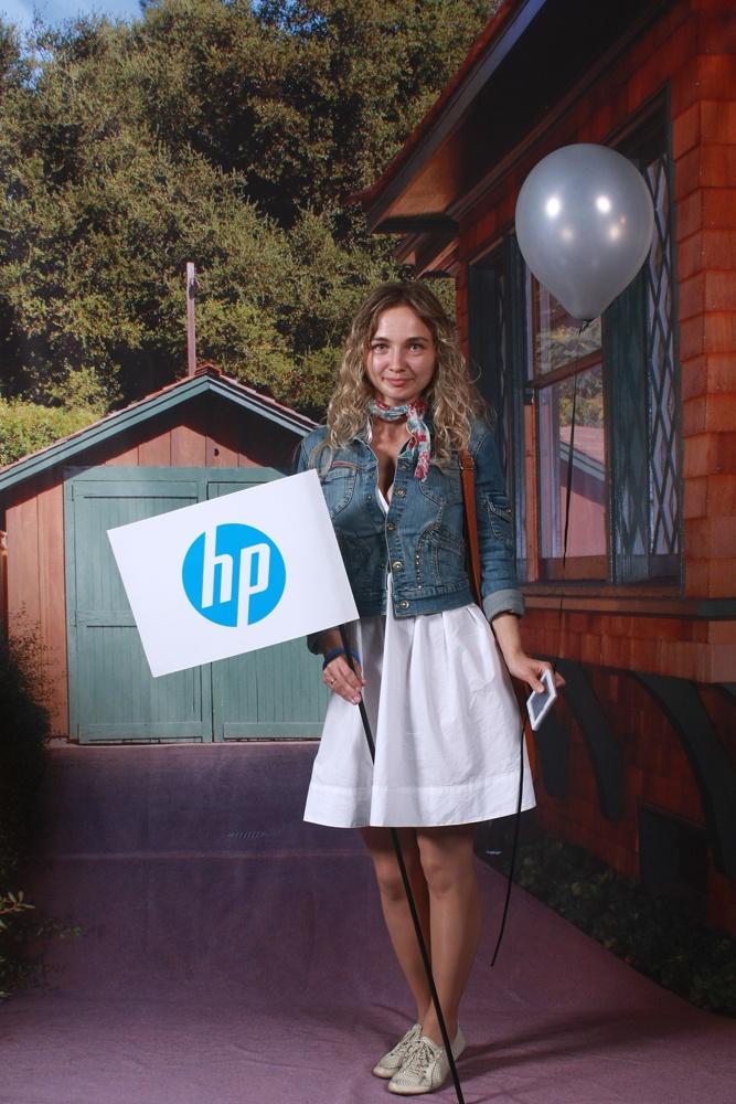 мобильный фотостенд HP 5